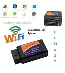 ELM327 WIFI DIAGNOSIS UNIVERSAL IPHONE TORQUE ERROR MOTOR