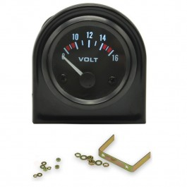 Reloj Voltímetro Voltios Voltaje Batería Coche Universal