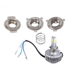Kit Led H4 S2 H6 BA20D PH7 Bombilla Moto Casquillo Europeo 2800LM