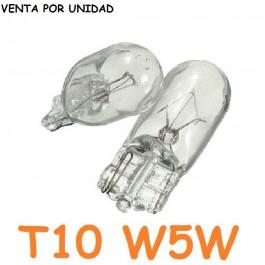 Bombilla T10 W5W W3W Halógena Posición Interior Cuadro Coche Cristal