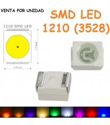 Smd Led 1210 Diodo Colores Sueltos Universal Cuadro coche luz de fondo