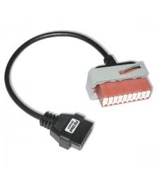 Cable Adaptador Citroen y Peugeot 30 pin ODB a OBD2 16 pin Diagnóstico