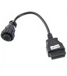 Cable Adaptador Scania Y Daf 16 pin ODB a OBD2 16 pin Diagnóstico