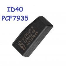 Chip Transponder ID40 PCF7935 4D40 Opel Saab GM 1997 - 2010