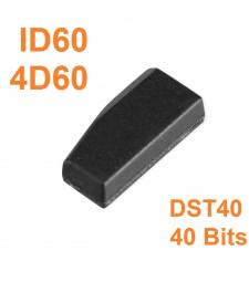 Chip Transponder ID60 DST40 4D60 Ford Nissan Mazda 1997-2009
