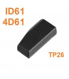 Chip Transponder ID61 TP26 4D61 Mitsubishi 2001-2006
