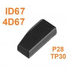 Chip Transponder ID67 TP30 4D67 P28 Toyota y Lexus 2003-2011