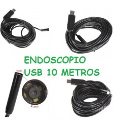 ENDOSCOPIO USB 10M 10MM