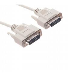 Cable DB15 DB-15 de Macho a Macho 1,5 Metros para Máquinas de Diagnosis