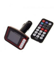 TRANSMISOR MP4 PARA COCHE USB SD
