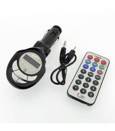 Transmisor MP3 FM USB Tarjeta de memoria Música en el coche Universal