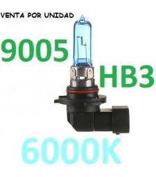 Bombilla HB3 9005 HIR1 9011 H10 Halógena Efecto Xenon coche 6000K