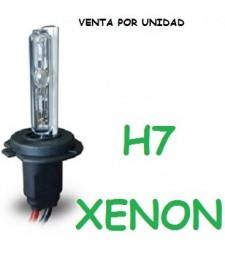 BOMBILLA H7 XENON 35W / 55W COCHE MOTO REPUESTO UNIVERSAL