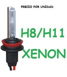 BOMBILLA H8 H9 H11 XENON 35W / 55W REPUESTO UNIVERSAL COCHE MOTO