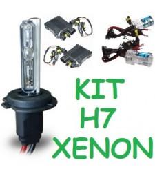 KIT XENON H7 PARA 2 FAROS 35/55W UNIVERSAL COCHE MOTO HID