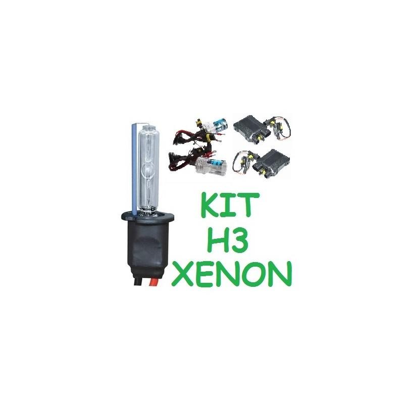 kit xenon h3 para 2 faros 35 55w universal coche moto hid. Black Bedroom Furniture Sets. Home Design Ideas