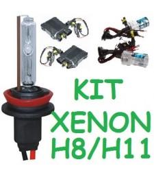 KIT XENON H8 H9 H11 PARA 2 FAROS 35/55W UNIVERSAL COCHE MOTO HID