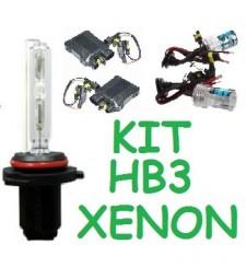 KIT XENON HB3 9005 H10 HIR1 9011 2 FAROS 35w 55w UNIVERSAL COCHE MOTO