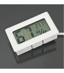 Termómetro Higrómetro Hidrómetro Sonda Empotrable Humedad Temperatura