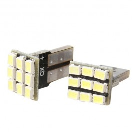 BOMBILLAS T10 9 SMD LED W5W CANBUS BLANCA